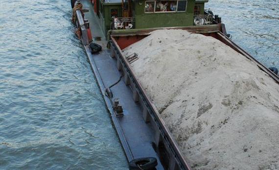 Kinmen-illegal-sand-dredging